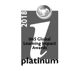 IMS Global Learn Impact Platinum Award 2018